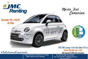 FIAT 500 Lounge 1.0 6v Gse 52kw (70 Cv)